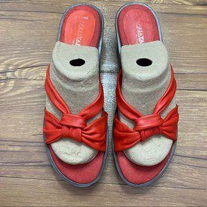 Aquatalia by Marvin K Slip On Sandal Size 8